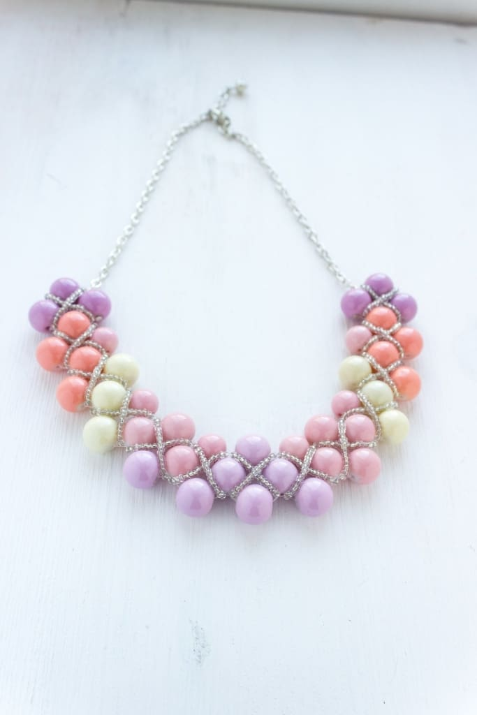 "A necklace of beads ""Candies"" - 1"