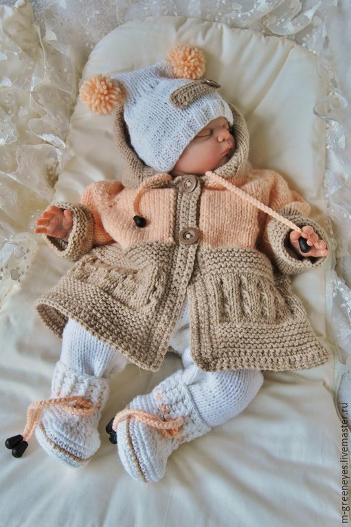 21f3ff76c Handmade crochet baby sweater sets