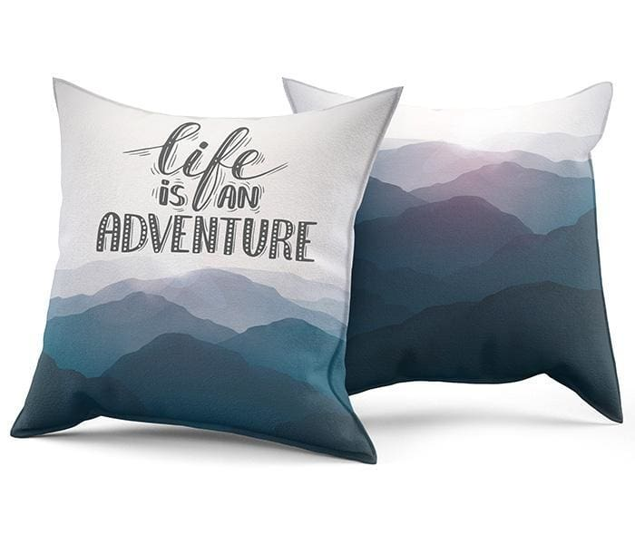 Accent Pillow For Sofa With Landscape - Pillow