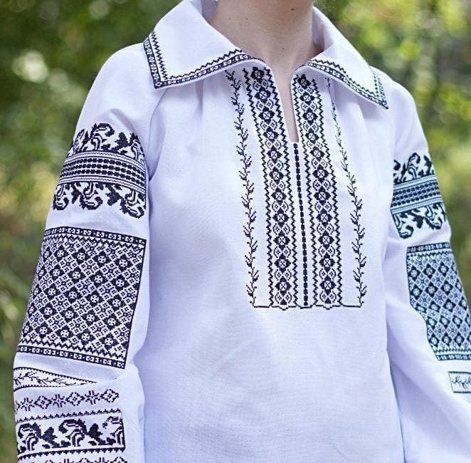 Advanced embroidery designs. Woman blouse - 1