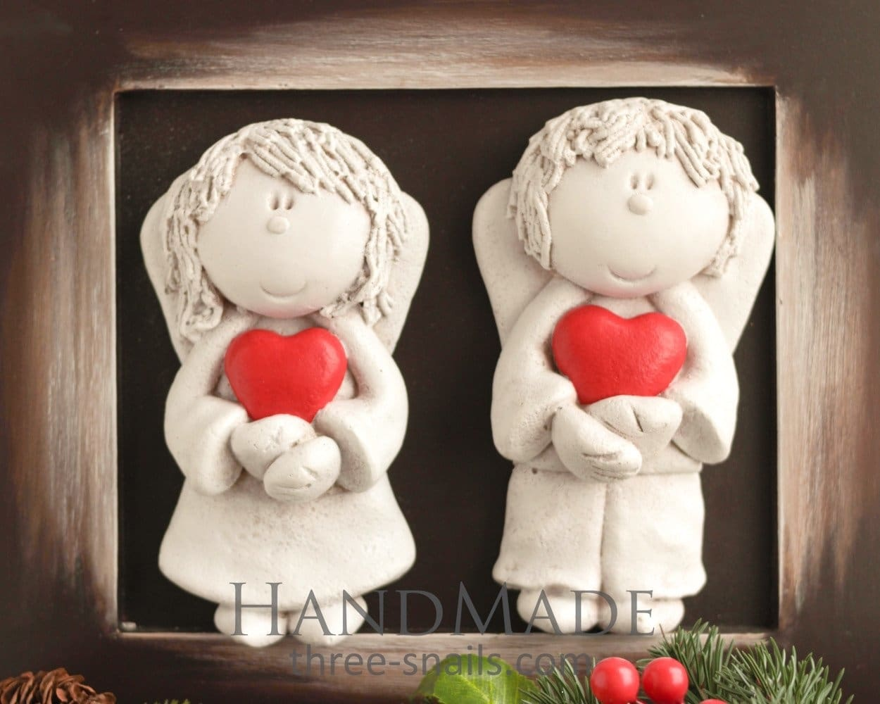 Angel Gifts Couple Of Angels - Vasylchenko1
