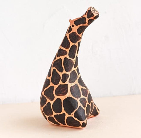 Animal Figurines Clever Giraffe - Vasylchenko1
