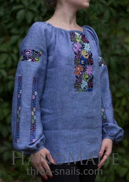 Applique Embroidery Designs. Woman Blouse - Melnichenko1