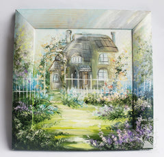 Art Wall Decor Barton In Spring - Vasylchenko1