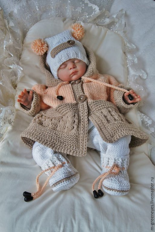 Handmade Crochet Baby Sweater Sets Ts