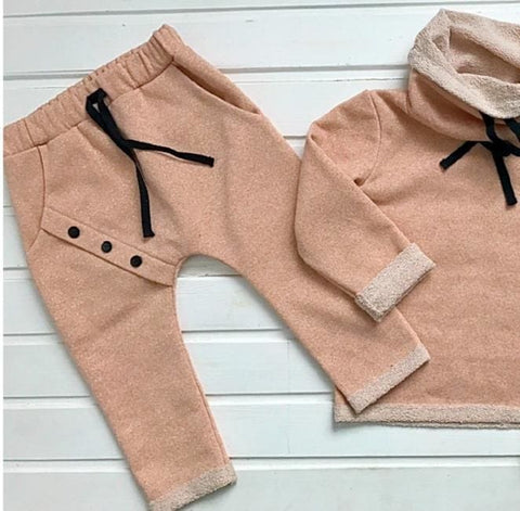 Babies & Kids Unisex Set: Sweatshirt And Pants - Baby Clothes
