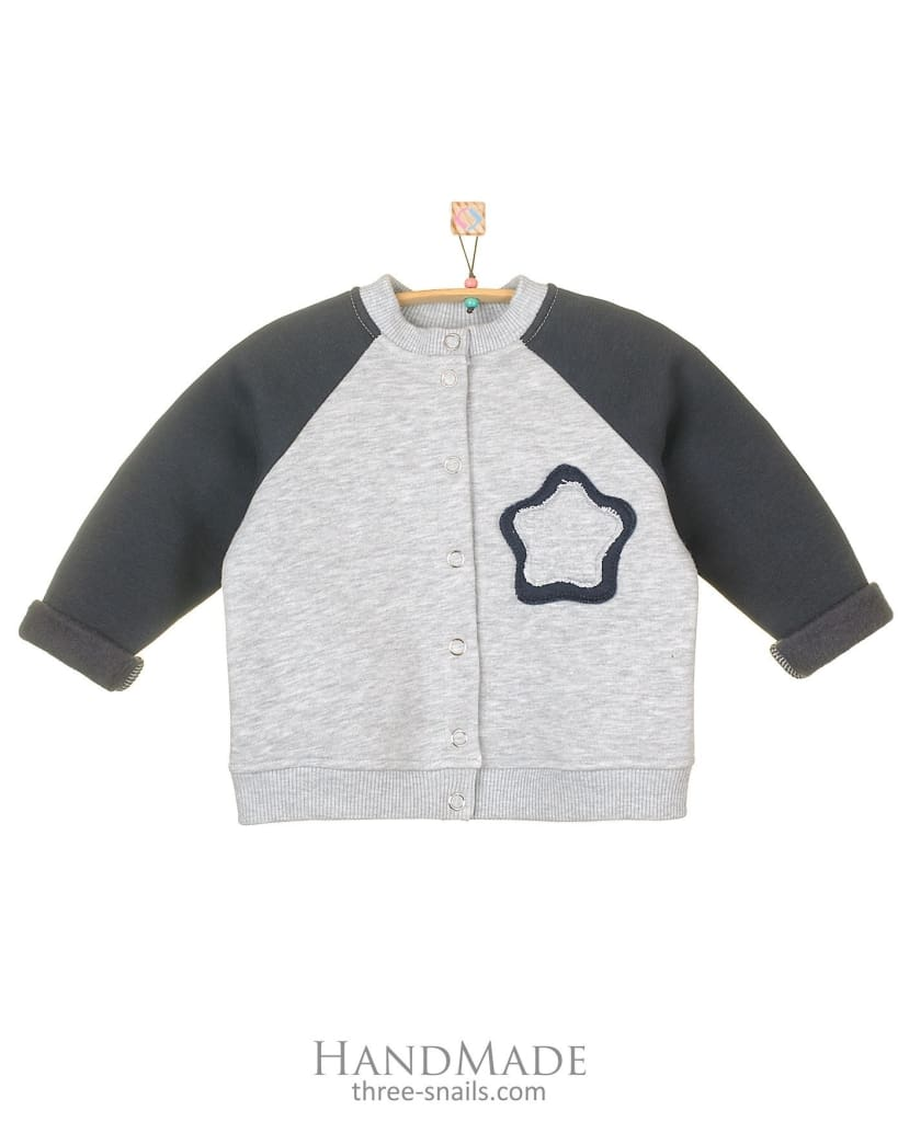 Baby Bomber Jacket Star - Baby Clothes