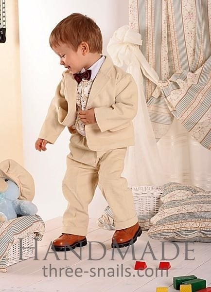 Baby Boy Outfits Creamy Dessert - Occasion Outfit