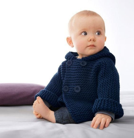 Baby Boy Winter Cardigan - Baby Clothes