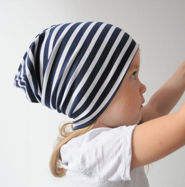Baby Cap Striped Trip - Baby Clothes