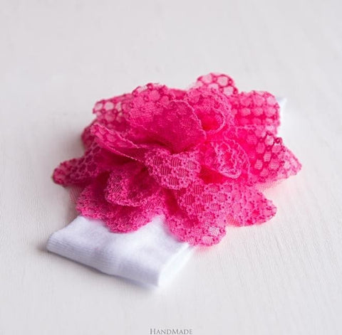 Baby Girl Pink Headband - Baby Clothes