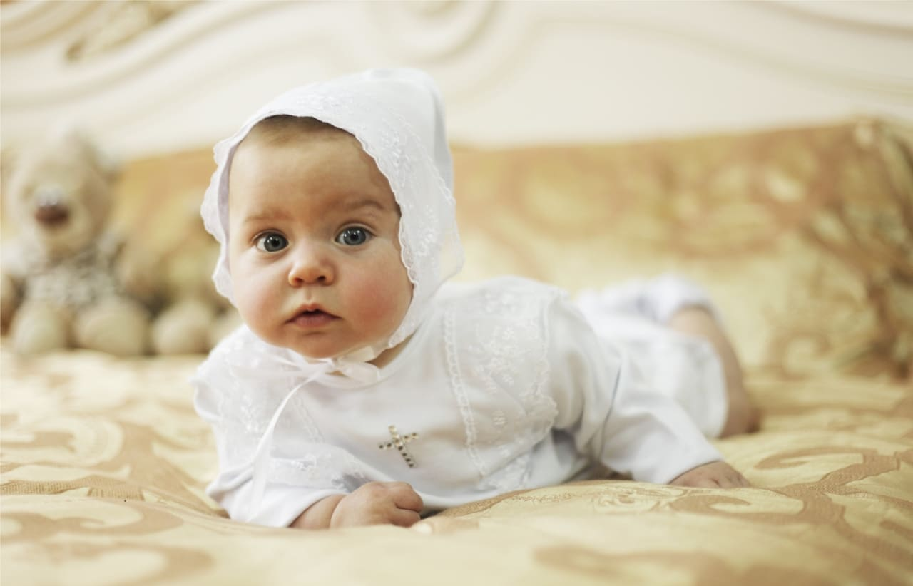 Baby Girl Set For Christening - Baptism Outfit