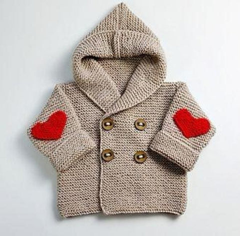 Baby Hooded Cardigan Sweater - Baby Clothes