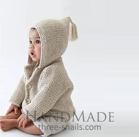 Baby Hooded Sweater - Baby Clothes