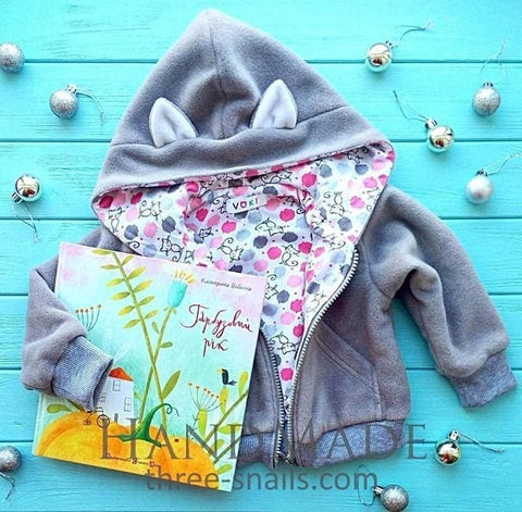 Baby Hoodie Kitty - Baby Clothes