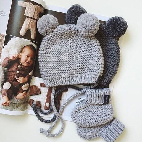 Baby Knitted Set - Baby Clothes