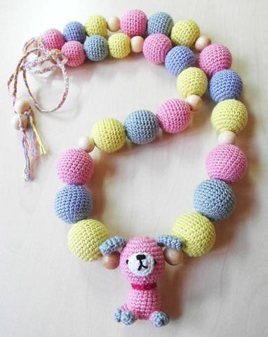 Baby Necklace Puppy - Toy