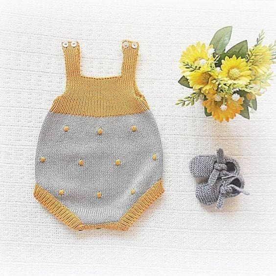 Baby Polka Dot Bodysuit - Baby Clothes