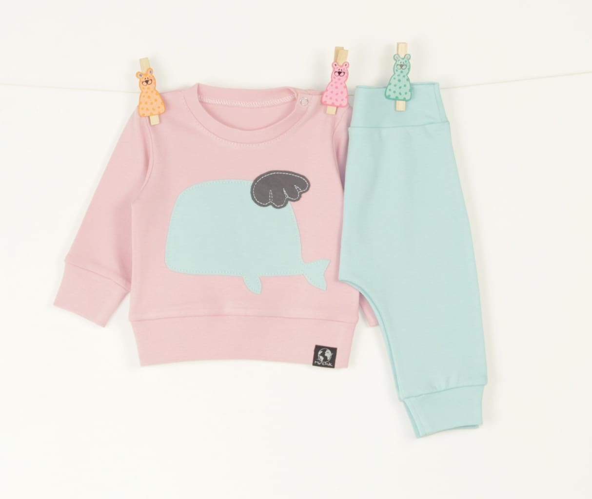 Baby Suit Whale - Baby Clothes