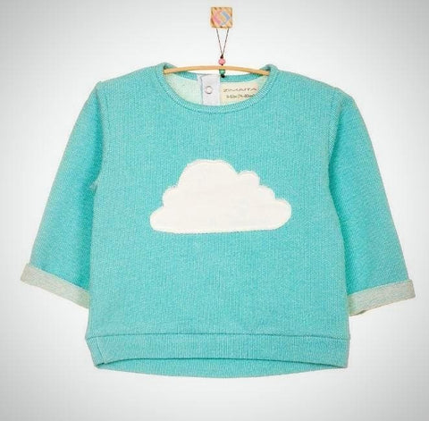 Baby Sweatshirt Cloud - Baby Clothes