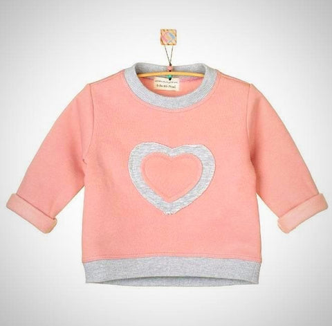 Baby Sweatshirt Heart - Baby Clothes