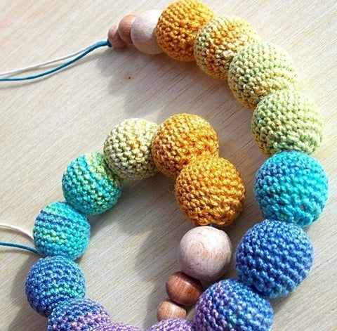 Baby Teething Necklace Rainbow - Toy