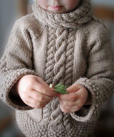 Baby Woolen Sweater - Baby Clothes