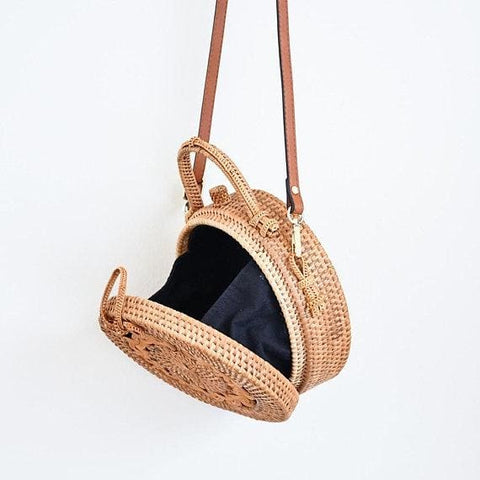 Bali Handle Rattan Bag - Bag