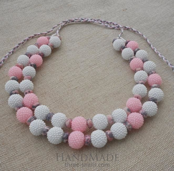 cute beaded necklace
