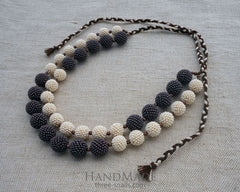handmade bead necklaces
