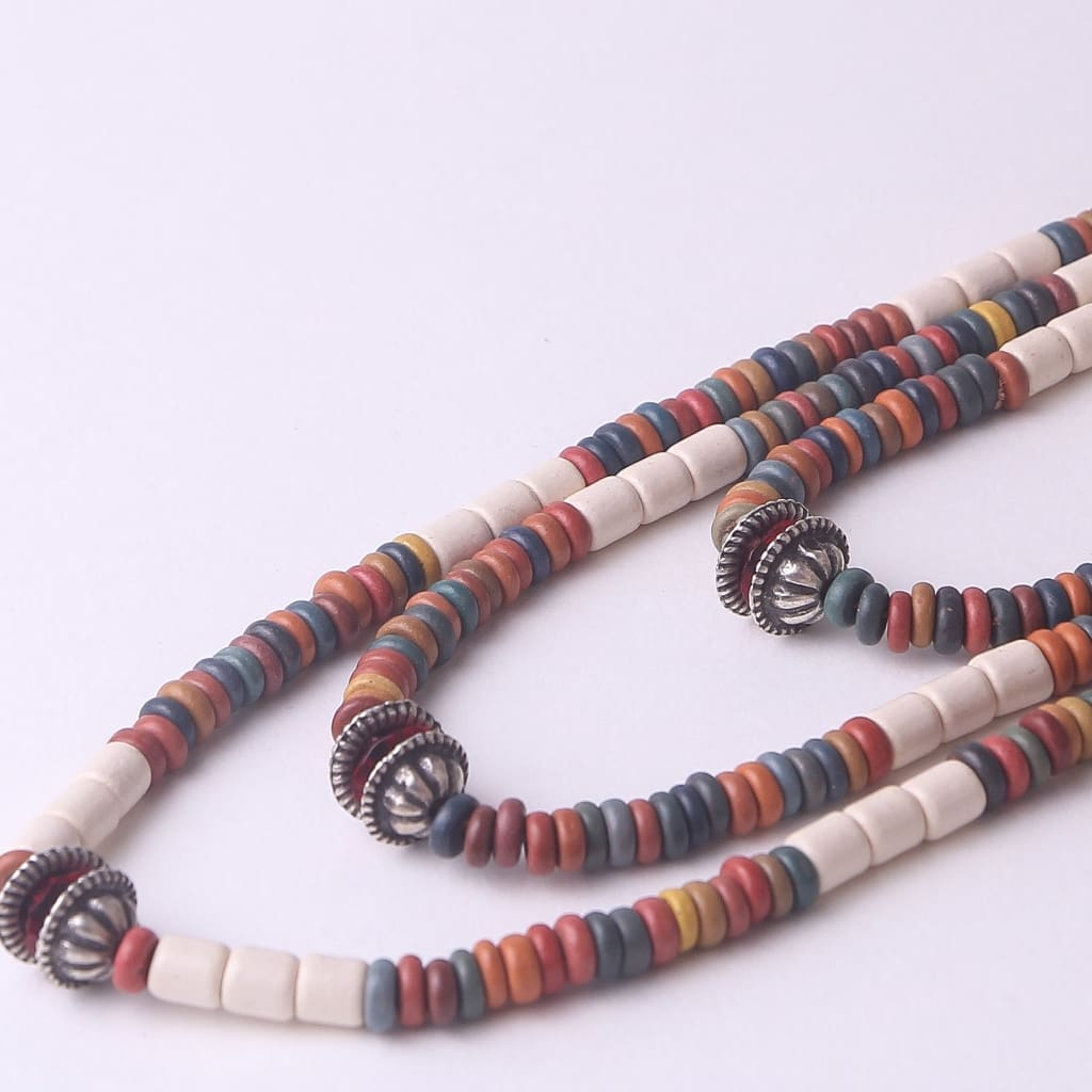 Bead Necklaces Rainbow - Melnichenko1