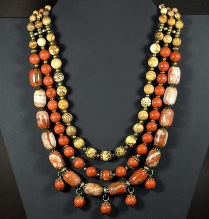 Bead Necklaces Stone Dance - Vasylchenko1