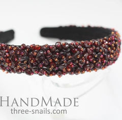 Beaded Headband Luxury - Vasylchenko1