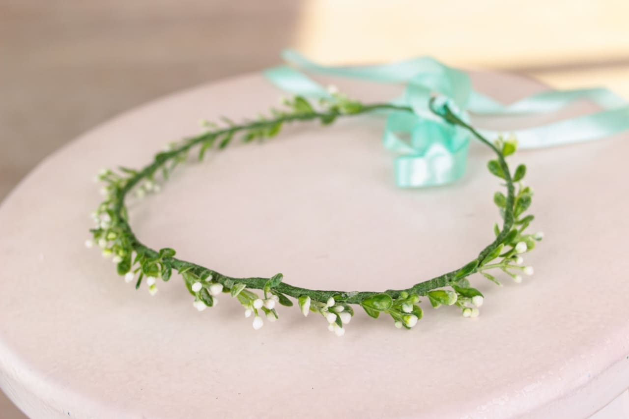 Beaded Headbands Green Branch - Vasylchenko1