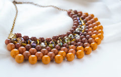 beaded necklaces online
