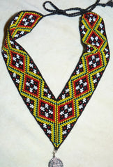 colorful beaded gerdan