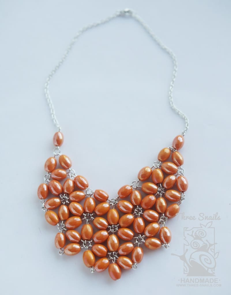 Beaded Necklace Siesta - Vasylchenko1