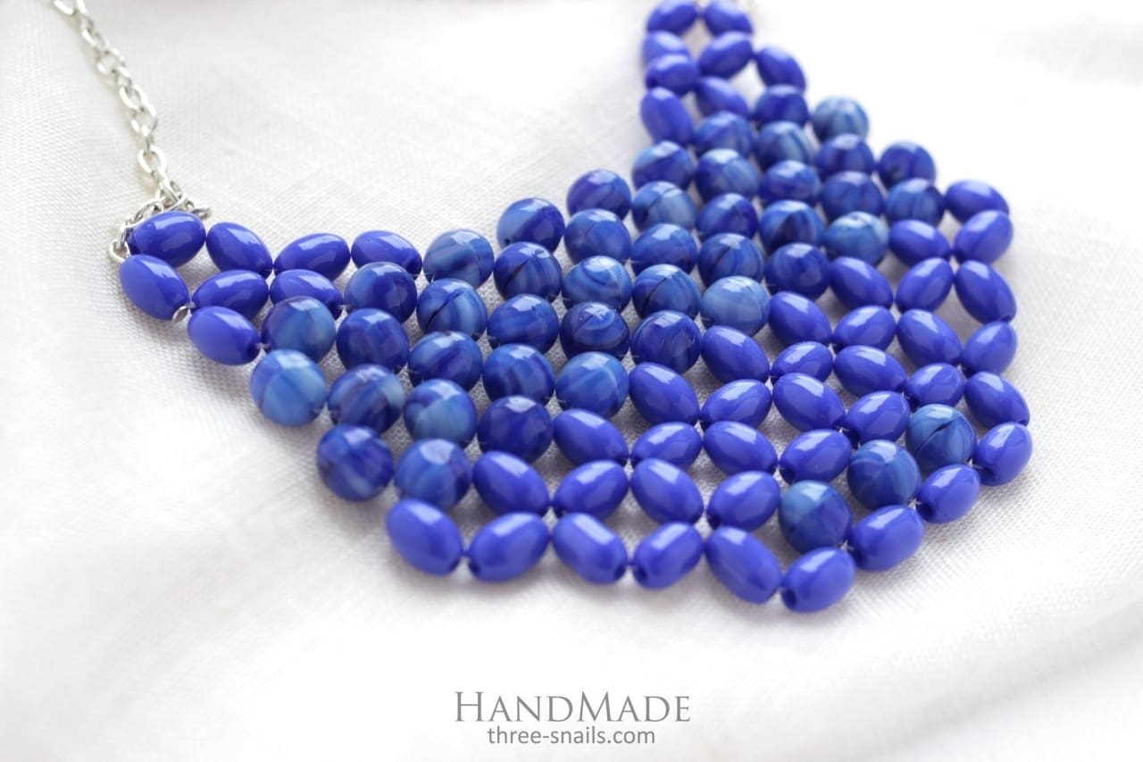 Beaded Necklace The Roof Of Heaven - Vasylchenko1