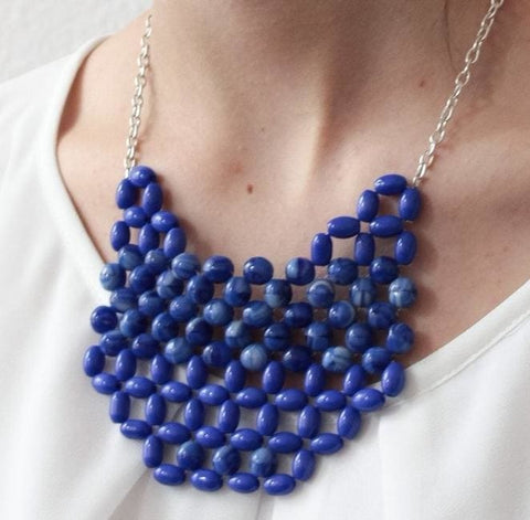 beaded necklace online