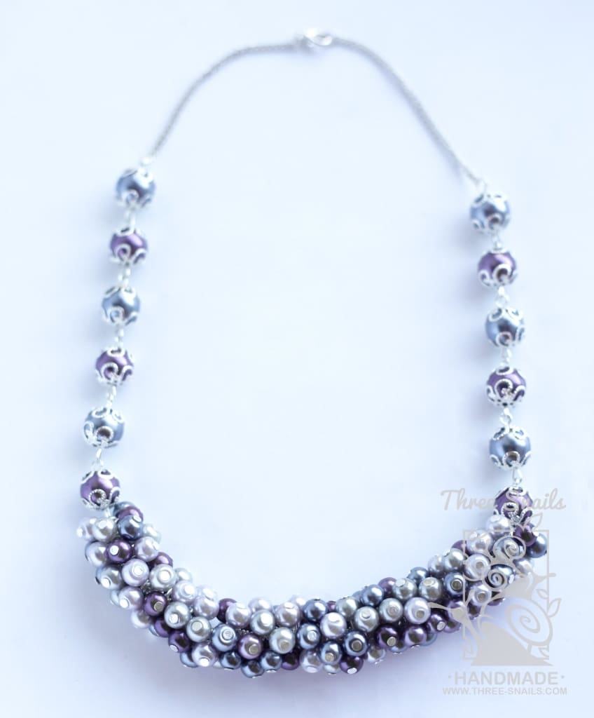 Beaded Necklace Valery - Vasylchenko1