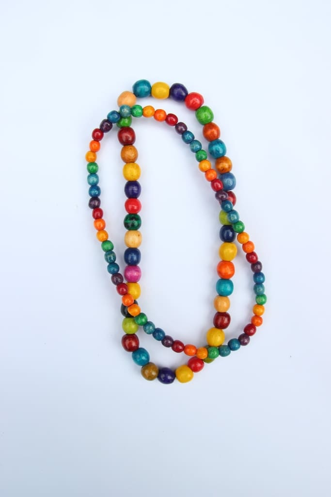 Beaded Necklaces Colorful Day - Vasylchenko1