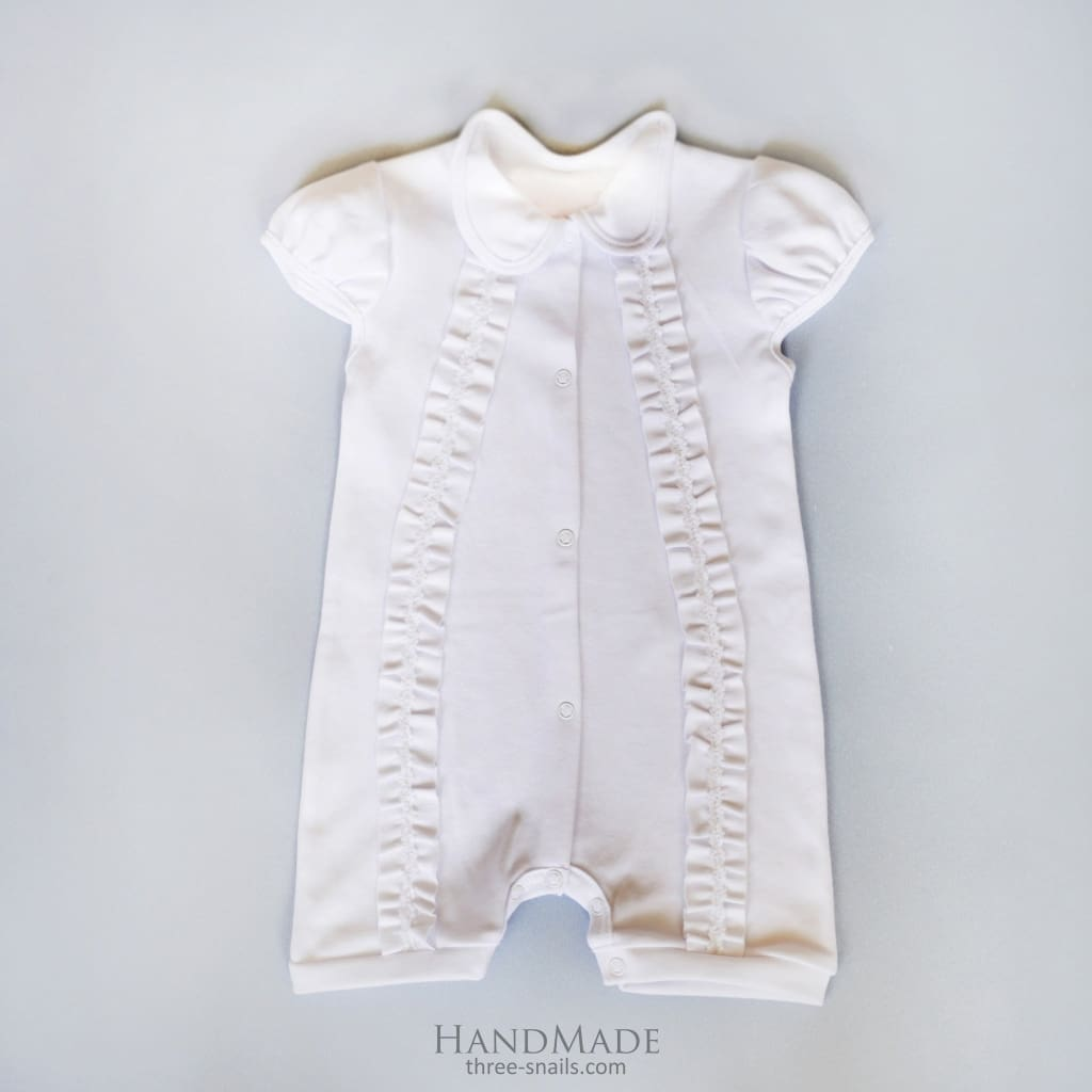 Beautiful Baby Clothes For Girls. Bodysuit Amur - Baptism Outfit