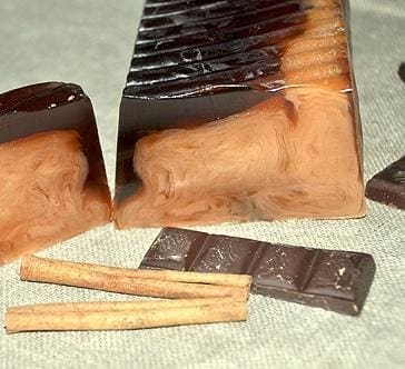 Beautiful Handmade Soap «Chocolate i cinnamon» - 1
