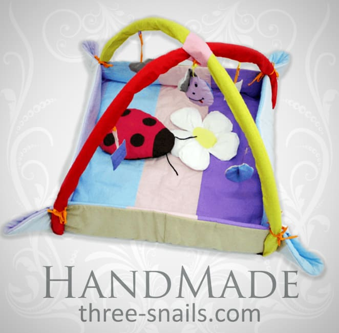 Best Baby Playpen Ladybird With Toys - Toy