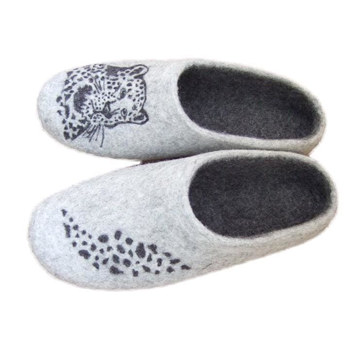 "Best mens slippers ""Leopard"" - 1"