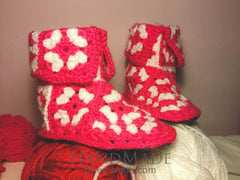 Best Winter Shoes For Home. Knitted Shoes «Valeynices» - Vasylchenko1