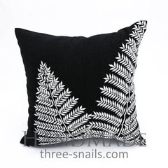 Black And White Pillow Case - Pillow Cover