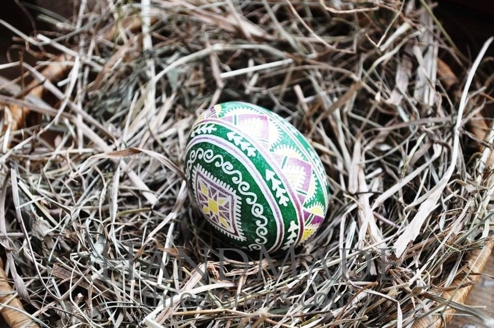 «Blooming Field» Pysanka (Easter Egg) - Vasylchenko1
