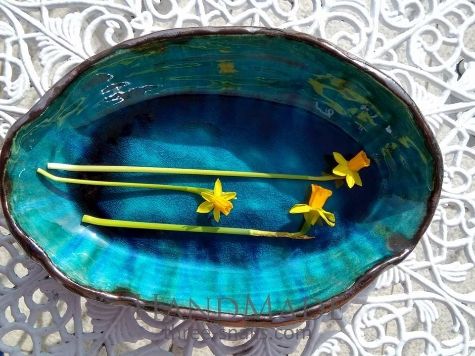 Bowl Turquoise Of The Heavens - Bowl
