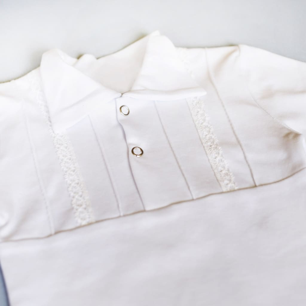 Boys Baptism Clothes. Baby Boy White Outfit - Baptism Outfit